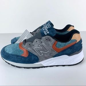 New Balance M990JTC Blue Grey USA M990 Sneakers